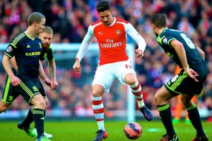 FA Cup – Arsenal vs. Middlesbrough @ Emirate Stadium – February 15, 2015