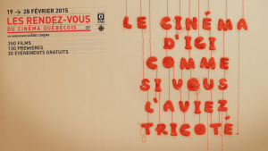 It is Time for Les Rendez Vous du Cinema Quebecois