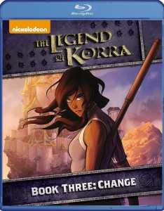 The Legend of Korra: Book Three – Change – Blu-ray Edition