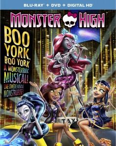 Monster High: Boo York, Boo York – Blu-ray/DVD Combo Edition