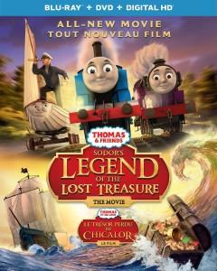 Thomas & Friends: Sodor's Legend of the Lost Treasure – Blu-ray/DVD Combo Edition