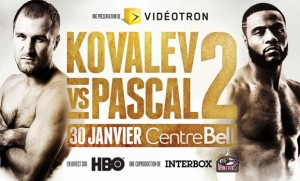 Get Your Boxing Gloves on: It's Kovalev vs. Pascal Part Deux
