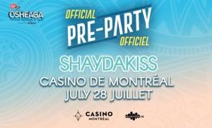 Osheaga Pre-Party with Shaydakiss