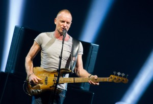 Two Englishmen Do Their Thing – Sting and Peter Gabriel