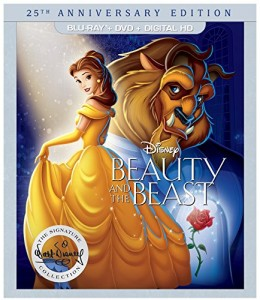 Beauty and the Beast: 25th Anniversary Edition – Blu-ray/DVD Combo Edition