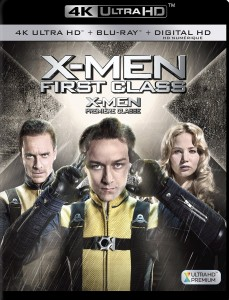 X-Men: First Class – 4K Blu-ray Edition