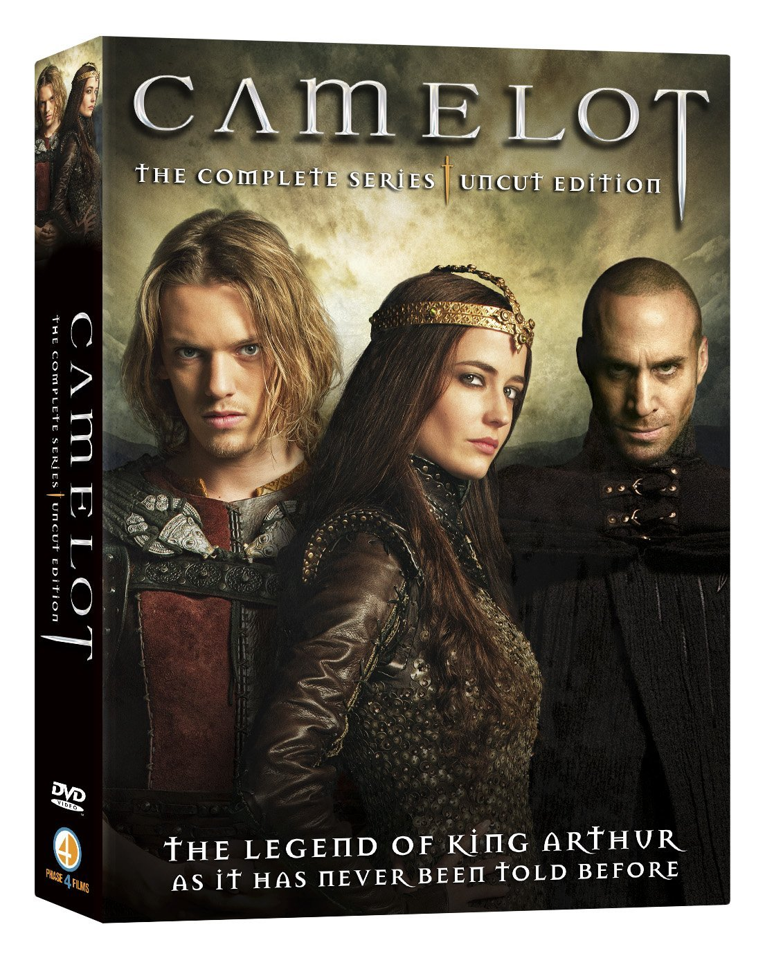 camelot the complete series uncut edition orcasound. Black Bedroom Furniture Sets. Home Design Ideas