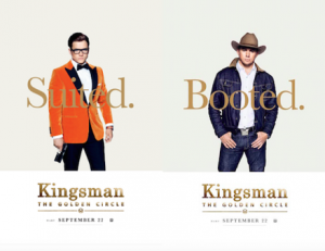 KINGSMAN: THE GOLDEN CIRCLE – NEW POSTERS!
