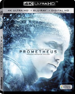 Prometheus – 4K Blu-ray/Blu-ray Combo Edition