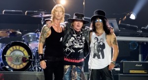 Welcome to the Jungle that is Guns n Roses