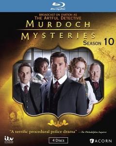 Murdoch Mysteries: Season 10 – Blu-ray Edition