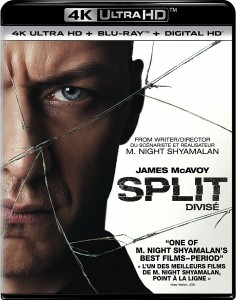 Split – 4K Blu-ray/Blu-ray Combo Edition