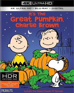 It's the Great Pumpkin Charlie Brown – 4K Blu-ray Edition