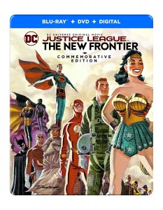 Justice League: The New Frontier – Commemorative Edition – Blu-ray/DVD Combo Edition