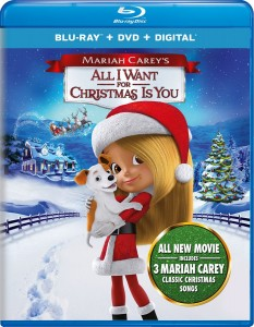 Giveaway – Get Your Own Copy of Mariah Carey's All I Want for Christmas Blu-ray