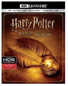Harry Potter 8 Film Collection – 4K Blu-ray Edition