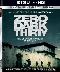 Zero Dark Thirty – 4K Blu-ray/Blu-ray Combo Edition