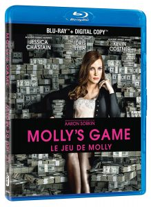 Molly's Game – Blu-ray Edition
