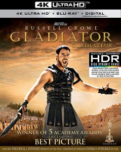 Gladiator – 4K Ultra HD/Blu-ray Combo Edition