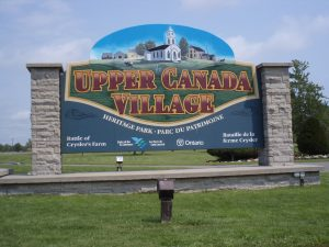 Step Back in History – Upper Canada Village