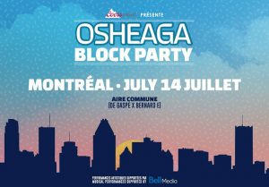 Warm Up for Osheaga with a Block Party