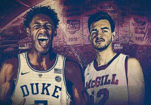 Canada vs. U.S.A. – McGill v Duke Basketball Showdown