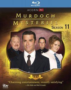 Murdoch Mysteries: Season 11 – Blu-ray Edition