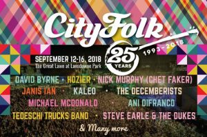 Great Live Music at CityFolk Fest