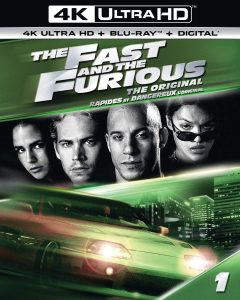 The Fast and the Furious – 4K Ultra HD/Blu-ray Combo Edition