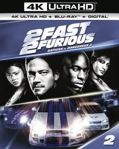 2 Fast 2 Furious – 4K Ultra HD/Blu-ray Combo Edition