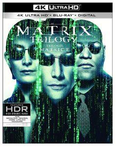 Matrix Trilogy – 4K Ultra HD/Blu-ray Combo Edition