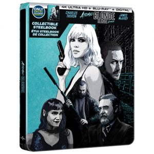 Atomic Blonde Steelbook – 4K Ultra HD/Blu-ray Combo Edition