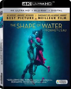 The Shape of Water – 4k Ultra HD/Blu-ray Combo Edition