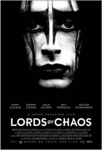 POSTER RELEASE: Jonas Åkerlund's LORDS OF CHAOS
