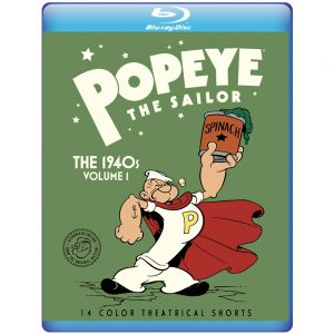Popeye the Sailor: The 1940s – Volume 1 – Blu-ray Edition