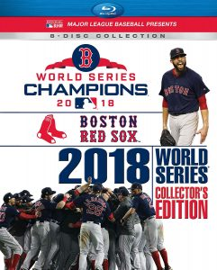 2018 World Series Champions: Boston Red Sox – Collector's Edition – Blu-ray Edition