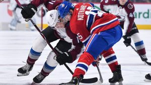 Montreal Canadiens vs. Colorado Avalanche – January 12, 2019 @ Bell Centre
