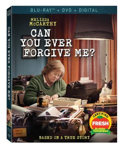 Can You Ever Forgive Me? – Blu-ray/DVD Combo Edition