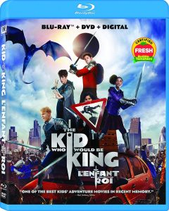 THE KID WHO WOULD BE KING – BLU-RAY/DVD COMBO EDITION