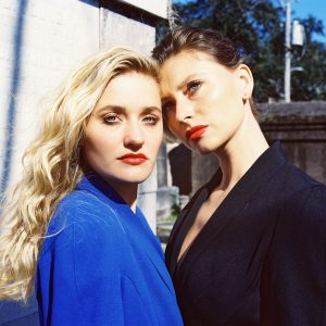 "Iconic sister duo Aly & AJ do some soul searching on their new alternative pop track ""Church"""