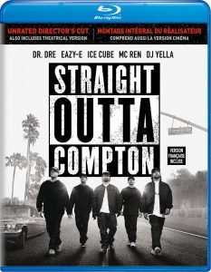 Straight Outta Compton: Unrated Director's Edition – Blu-ray Edition