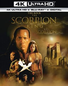 The Scorpion King – 4K HD Ultra/Blu-ray Combo Edition