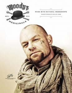 """Ivan L. Moody """"Moody's Medicinals"""" Lead Singer Of Five Finger Death Punch Announces New Line Of CBD And Non-CBD Health And Wellness Products Available Worldwide On Tuesday, June 25"""