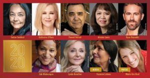 "ACTOR TANTOO CARDINAL (""Stumptown,"" Dances With Wolves, ""Godless"") TO RECEIVE 2020 GOVERNOR GENERAL'S PERFORMING ARTS AWARDS"