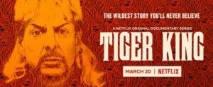 Date Announcement – Netflix's TIGER KING Docuseries