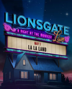 Lionsgate Live Presents LA LA LAND this Friday!