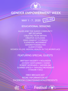 320 Festival Online Announces Partnership with Femme Fatale Productions for Gender Empowerment Week