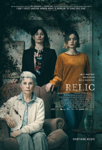 """CLIP DEBUT – """"RELIC"""" Starring Emily Mortimer, Bella Heathcote, Robyn Nevin – OPENS JULY 10TH"""