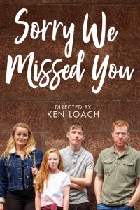 SORRY WE MISSED YOU Home Entertainment Release