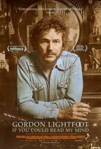 """""""Gordon Lightfoot: If You Could Read My Mind"""" Documentary on Folk-Rock Legend Opens JULY 29"""